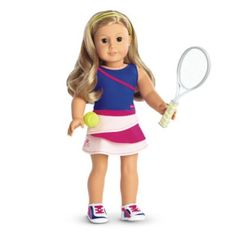 Tennis Ace Outfit for Dolls | furntm | American Girl