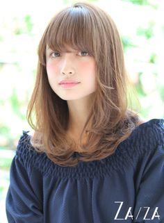 大人ナチュラルミディ 【ZA/ZA aoyama】 http://beautynavi.woman.excite.co.jp/salon/26005?pint ≪ #mediumhair #mediumstyle #mediumhairstyle #hairstyle・ミディアム・ヘアスタイル・髪形・髪型≫
