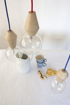 Male&female lamp by esigenza creativa