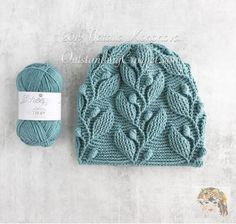 Climbing Vine Hat Crochet Pattern with graph, video and written instructions. Double Crochet, Crochet Baby, Free Crochet, Knit Crochet, Crochet Beanie Hat, Knitted Hats, Crochet Hoodie, Slouchy Beanie, Crochet Crafts