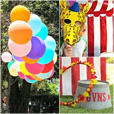 homemade by jill: preschool carnival party