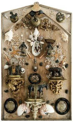 artiste, cabinet de curiosités, French General Inspiration board collage