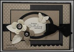 i love the details on this card, the leaves. embossed polka dots, scallop edge.