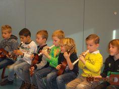 Muzikaliteit, natuurlijk geërfd van zijn vader :)
