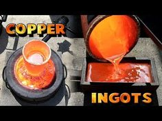 [Video] Melt And Mold Your Scrap Copper Into 5-Pound Ingots. - Page 2 of 2 - BRILLIANT DIY