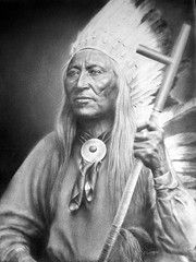 Chief Washakie  Chief Washakie was born to a Flathead (Salish) father and and Lemhi Shoshone mother.His prowess in battle, his efforts for peace, and his commitment to his people's welfare made him one of the most respected leaders in Native American history. Upon his death in 1900, he became the only known Native American to be given a full military funeral.