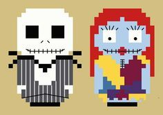 cross stitch Pop Culture The Nightmare Before Christmas