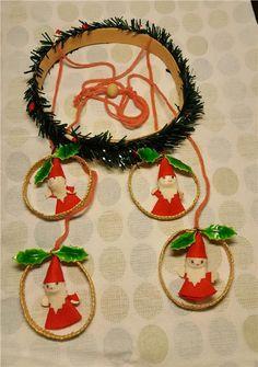 Äldre handgjort julpynt på Tradera.com - Julgranspynt | Julsaker |