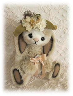 'Macy Booh Bear Bunny' pinned by Margaret's Emporium @ pinterest.com I hope I have the right info but I saw this image a while ago