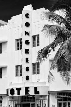 Art Deco Architecture of Miami Beach - South Beach - Florida Photographic Print by Philippe Hugonnard at Art.com