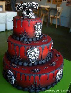 Day of the Dead cake! super cute!!!