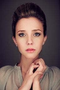 I love this portrait. beautiful