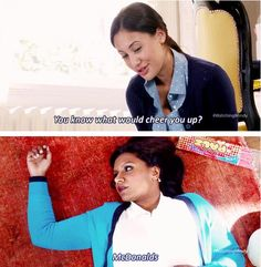 The Mindy Project. I'm obsessed with this show!