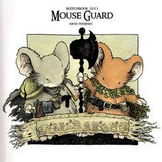 Mouse Guard 2013 Sketchbook.