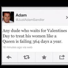 Well said Adam :)