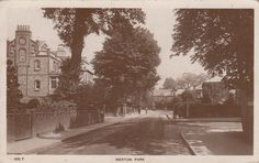Merton Park, Wimbledon, SW London, Real photo, old postcard, unposted Old London, Old Postcards, Wimbledon, Surrey, Old Pictures, Past, Outdoor, Image, Ebay
