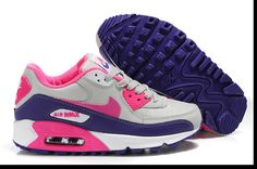 Nike Air Max 90 Mens Shoes Purple Pink White