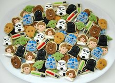 Star Wars Mini Cookies