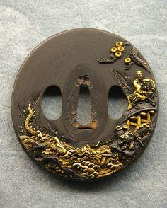 58 Japanese Tsuba Designs | Takumi Warrior