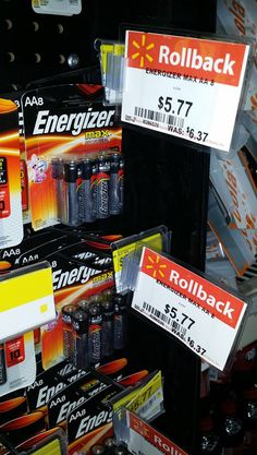 FREE Energizer Batteries With Overage!