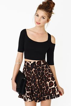 Made To Stray Crop Top by Nasty Gal