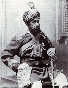Risaldar-Major Sayyid Abdul Aziz, 5th Bengal Cavalry 1897
