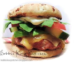 Bobbi's Kozy Kitchen: Mr T Burger