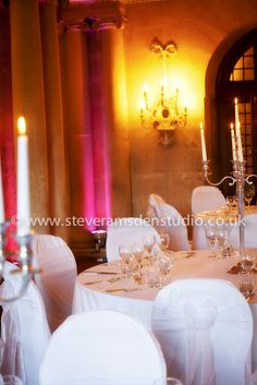 Grecian-Hall--Castle-Howard-Classical decor in the Grecian Hall