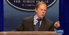 "Melissa McCarthy said she's ""taking notes"" on White House Press Secretary Sean Spicer in anticipation of her next ""Saturday Night Live"" impression."