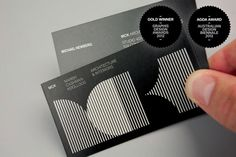 32 Inspiring Architect Business Card Designs | iBrandStudio
