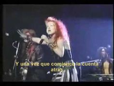 Cindy Lauper - All Trought The Night Subtitulado
