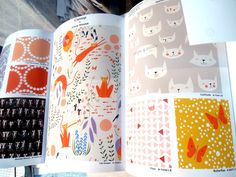 Catnap fabric by Lizzy House for Andover, original pic from trueup.net