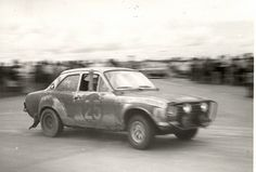 East African Safari 1971  Ford  Escort TC. Roger Clark and Gilbert Staepelaere