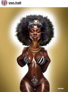 History of Black Self-Hatred in the styling of Black Hair during & after Slavery in the Black African American History video documentary: The Inferiority Seed Sexy Black Art, Black Love Art, Black Girl Art, My Black Is Beautiful, Black Girl Magic, Art Girl, Black Girls, African American Art, African Art