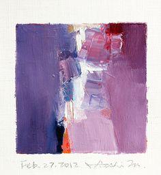 Hiroshi Matsumoto - Abstract Oil Painting