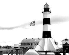 Sabine Pass Lighthouse in Cameron Parish, Louisiana.