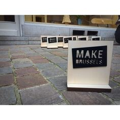 #makebrussels #makebrusselsgreatagain #lasercutlab #lasercutting #lasercut #lasercuts #wood #acrylic #pmma #plexiglas #trophy #inkutlab #atrium #brussels