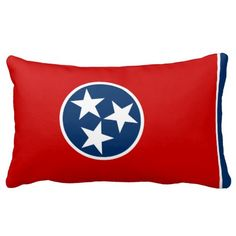 Tennessee flag, American state flag Pillow Pillow