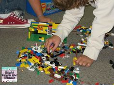 All Things Upper Elementary: All to Pieces: Lego writing/Sequencing activity