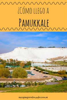 Destinos en Turquia Pamukkale. #travel #destination