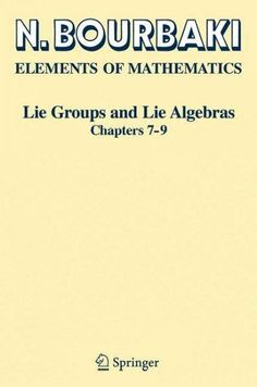 Lie Groups and Lie Algebras: Chapters 7-9