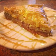 dedicated to all of you who love and live for travelling Baklava Recipe, Spanakopita, Dessert Recipes, Desserts, Cheesesteak, Food And Drink, Ethnic Recipes, Athens, Diet