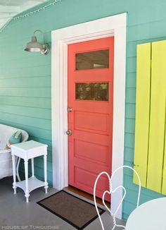 Beach house colors!