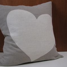 perfect for a grey&yellow room! Yellow Gray Room, Pink Room, Grey Room, Burlap Pillows, Throw Pillows, Heart Pillow, Pillow Talk, Crafty Craft, Cushions