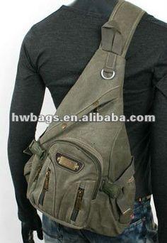 6fc36e3c7 Para hombre *vintage style* desequilibrada militar mochila bolsa de color  caqui-Mochilas-Identificación del producto:635845101-spanish.alibaba.com