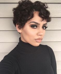 To show that women with short hair can still be feminine and beautiful, & to showcase women of color with short haircuts because rarely do I see blogs that cater to that