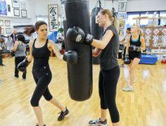 GoRecess Studio Spotlight: Foxy and Fierce Women's Kickboxing Bootcamp; Los Angeles, CA  #fitness #kickboxing #LA #GoRecess