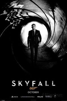 James Bond 007-Skyfall Teaser Poster at AllPosters.com