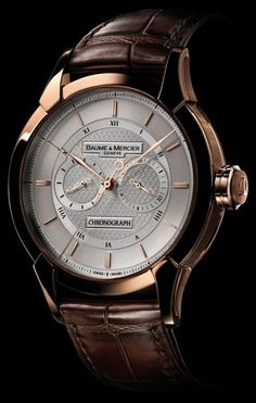 Baume et Mercier William Baume Monopusher Chronograph Limited Edition watch ref. M0A08802