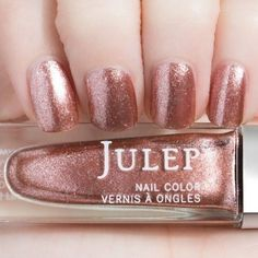 Julep - Vibrant Virgo - Zodiac - Luxe Rose Gold Multidimensional Metallic